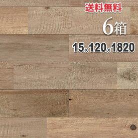 無垢 フローリング 床材「アカシア」ヴィンテージ加工(ダメージ) ユニ 120mm幅 無塗装 | ラスティックグレード | 天然木 ブルックリンスタイル DIY 木材 板