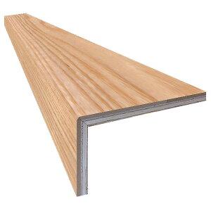 単板張り L字リフォーム框 玄関 幅木「アッシュ」オイル仕上げ(透明つや消し) | プレミアムグレード | 天然木 タモ 巾木 DIY 木材 板