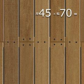 ウッドデッキ「ウリン(ボルネオ・アイアンウッド)」厚45mm×幅70mm×長1500mm 無塗装 | プレミアムグレード 【5kg/本】根太 大引き S4S E4E| 木製 デッキ DIY 木材 板