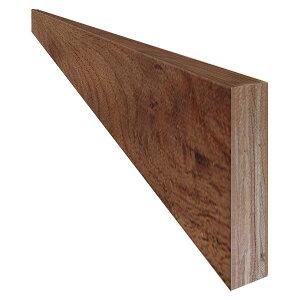 単板張り 付け框 玄関 幅木「ブラックウォルナット」オイル仕上げ(透明つや消し) | プレミアムグレード | 天然木 クルミ 胡桃 巾木 DIY 木材 板
