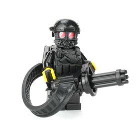 レゴ ブロック カスタム パーツ アーミー 装備品 武器 カスタムフィグ ヘビーガンナー 重機関銃兵 ミニ フィギュア Import