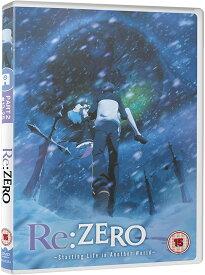 Re:ゼロから始める異世界生活 コンプリート DVD 2期 (13-25話, 325分) リゼロ 長月達平 アニメ 輸入版
