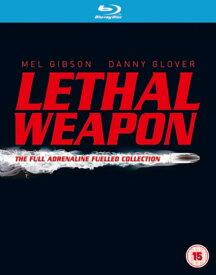 リーサル・ウェポン Lethal Weapon 全4部作収録 448分 ブルーレイBOX 輸入盤 Blu-ray