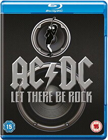 AC/DC LET THERE BE ROCK ロック魂 Blu-ray 輸入盤