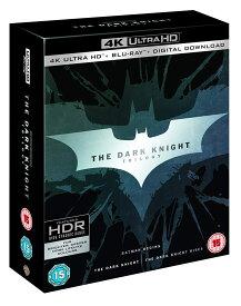 ダークナイト トリロジー 3部作収録 4K ULTRA HD + Blu-ray バットマン 4K ULTRA HD + Blu-ray 輸入版