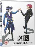 K RETURN OF KINGS コンプリート DVD(13話 325分)アニメ 輸入版