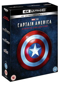 キャプテン・アメリカ 3ムービー・コレクション 4K ULTRA HD + Blu-ray 輸入版 キャプテンアメリカ 4K ULTRA HD
