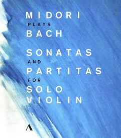 五嶋みどり、バッハを奏でる〜無伴奏ヴァイオリンのためのソナタとパルティータ全曲 Blu-ray 輸入版