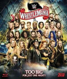 WWE レッスルマニア 36 プロレス Blu-ray 輸入版 WWE WrestleMania 36 Blu-ray