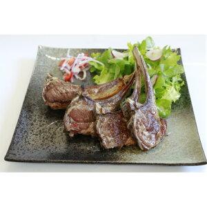 希少 国産 羊肉 生ジンギスカン ラムチョップ 410g 4本入 焼肉用 決算セール 冷凍発送