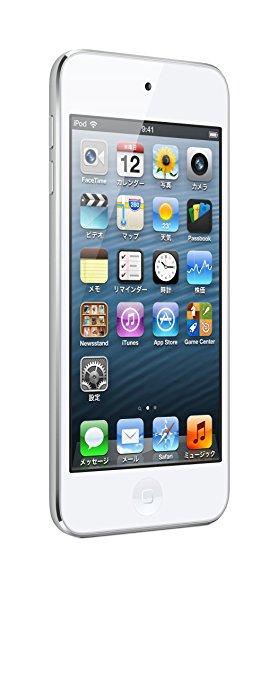 Apple アップル iPod touch 第5世代 32GB ホワイト&シルバー 本体のみ ジャンク 【送料無料】