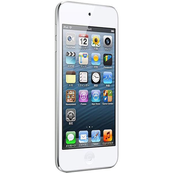 iPod iPod touch 第5世代 16GB ホワイト&シルバー 本体のみ [Bランク]