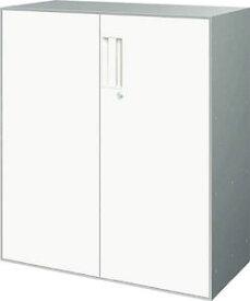 コクヨ UFX(ユニフレックス) 書庫【下置きタイプ】 両開き扉  ※高さ1020mmタイプ【BWZ-SD59P81NN】