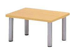 ロビーチェア テーブル MWC-640NAT 幅600×奥行き400×高さ300mm【MWC-640NAT】