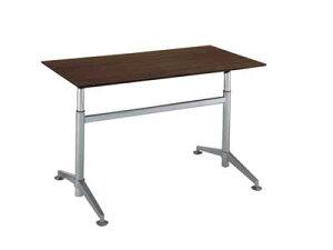 コクヨ ビューライズ 固定脚タイプ テーブル 配線キャップ4個付き 幅1500×奥行き750×高さ700〜1050mm【MT-508W-E】