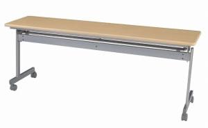 跳ね上げテーブル 幅1800×奥行き450mm(跳ね上げ折り畳み机)【KS1845】