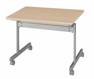 跳ね上げテーブル 幅900×奥行き600mm(跳ね上げ折り畳み机)【KS9060】