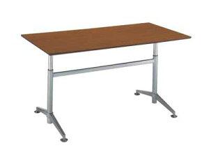 コクヨ ビューライズ 固定脚タイプ テーブル 配線キャップ4個付き 幅1800×奥行き900×高さ700〜1050mm【MT-506W-E】