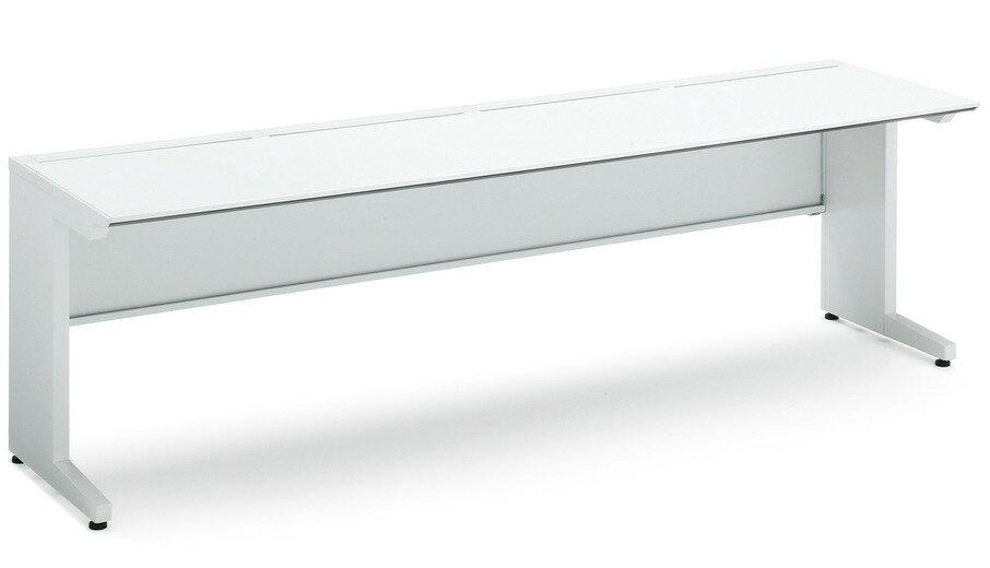 【最大3年保証】コクヨ iSデスクシステム スタンダードテーブル(センター引き出しなしタイプ) 幅2400×奥行700×高さ720mm【SD-ISN247LS】