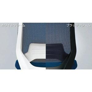 コクヨデュオラチェアー(Duora)ハイバックタイプ・T型肘付き・ランバーサポートなし樹脂脚(ブラック)【CR-G3001】