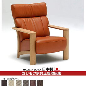カリモク ソファ/WT41モデル 平織布張 肘掛椅子 【COM オークD・G・S/U26グループ】【WT4100-U26】