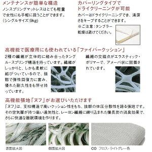 カリモクマットレスシングルFitmasterFiber・フィットマスターファイバー幅1050mm【NU41A4】