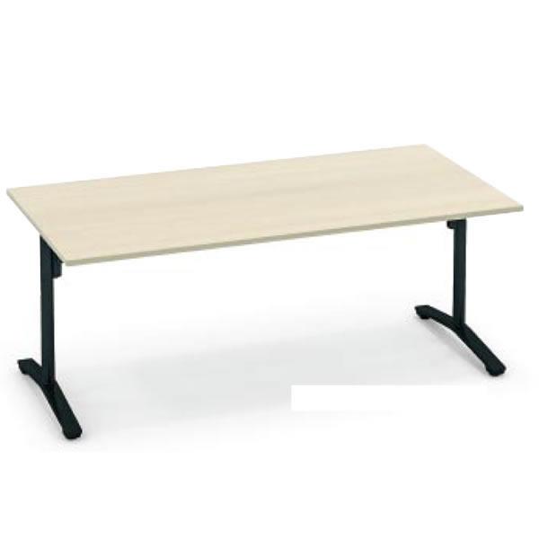 コクヨ ビエナ VIENA 配線ボックスなし 角形テーブル(T字脚) 塗装脚タイプ 幅2400×奥行1050×高さ720mm【MT-V241】