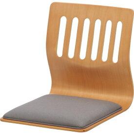 不二貿易 和座いすクッション付き PY-307BS(PY307BS)NA ナチュラル 10082【送料無料】