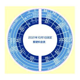 プラス (PLUS) レタースケール NO.320 専用 2021年10月1日 郵便料金 改定 シール 88-992 NO-320