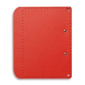 プラス (PLUS) A5サイズ に折りたためる A4クリップボード+ レッド FL-502CP 83-163