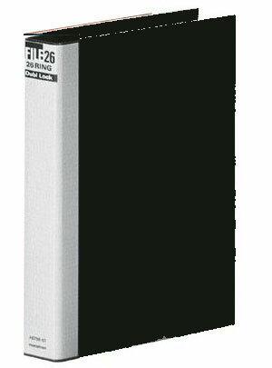 マルマン ダブロック メタルバインダー B5 26穴 黒 F679R−05 【RCP】