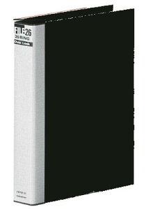 マルマン MARUMAN ダブロック メタルバインダー B5 タテ 26穴 黒 リング30mm 文具 事務用品 事務 F679R−05 【RCP】