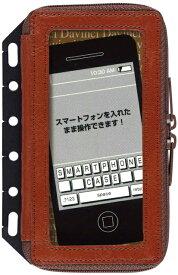 【メール便なら送料190円】レイメイ藤井 Davinci(ダ・ヴィンチ) 6穴革製スマートフォンケース(S) DR228C ブラウン