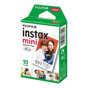 富士フイルム FUJIFILM チェキ用フィルム インスタントフィルム 無地 インスタックスミニ instax mini 10枚パック INSTAX MINI JP1