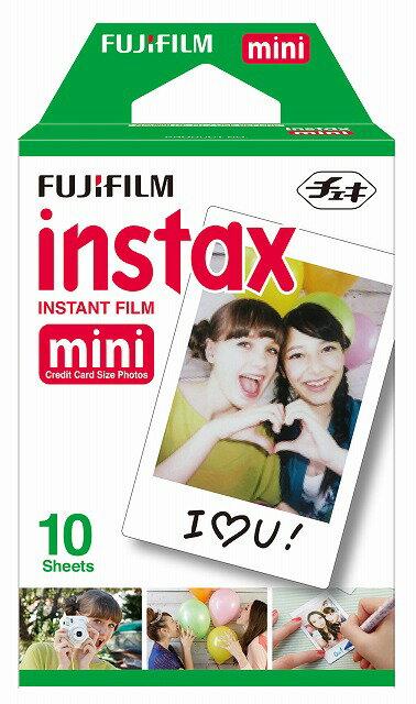 FUJIFILM<富士フイルム>インスタントカメラ チェキ専用 インスタントカラーフィルム instax mini 10枚パック instax mini k r 1 【RCP】