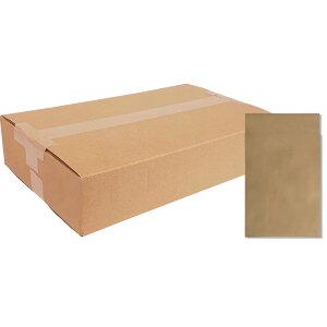 《キングコーポレーション》ポストイン封筒小未晒クラフト100ガゼット100枚 190412