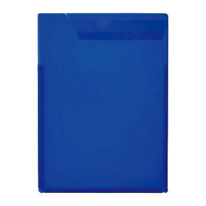 キングジム kingjim ルーズリーフ イン ケース タイプ アオ 433Tアオ 5冊セット 機能性ファイル ケース 書類 保存 専用 ファイル 仕事 学校 事務 プリント 青 ブルー
