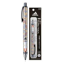 【メール便なら送料190円】数量限定商品!クルトガ アディダス<adidas>シャープペン 0.5mm トライアングルイエロー M5650AI1P.TYL 三菱鉛筆