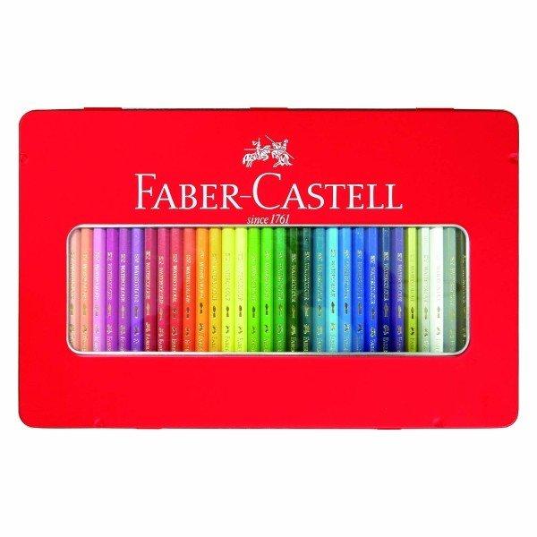 ファーバーカステル(FABER CASTELL) 水彩色鉛筆 36色セット TFC-WCP/36C 【RCP】