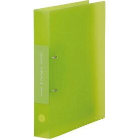 シンプリーズ Dリング(透明) 黄緑 652TSPキミ キングジム 【RCP】