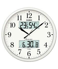 【送料無料!】カシオ(CASIO) 壁掛け時計 パールシルバー 電波時計 ITM-660NJ-8JF 【RCP】