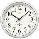 カシオ(CASIO) 壁掛け時計 パールホワイト 電波時計 IQ-1050NJ-7JF 【送料無料】 【RCP】