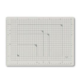 プラス(PLUS) カッティングマット A4サイズ CS-A4 LGY ライトグレー 48-570