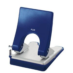 プラス(PLUS) 2穴パンチ フォース 1/2 Mサイズ(クリアーパック入り) PU-830AC ブルー 30-275