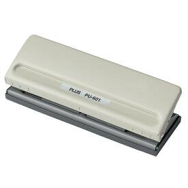 プラス(PLUS)パンチ バインダー式手帳パンチ 6穴 穴径5.5mm PU-601 34-000