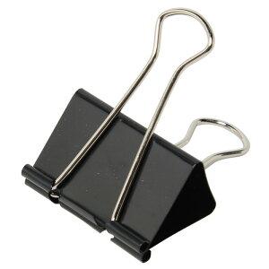 プラス(PLUS)クリップ ダブルクリップ 超特大 51型 10個入 200枚とじ 箱入り ブラック CP-101 35-440