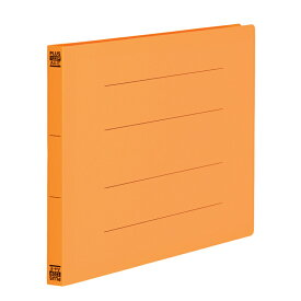 プラス(PLUS)フラットファイル PPフラットファイル A4-E オレンジ NO.122P 98-350