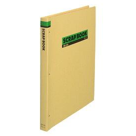 プラス(PLUS)スクラップブック 両面クラフト紙表紙 B4-S 中紙30枚 SB-210  33-243