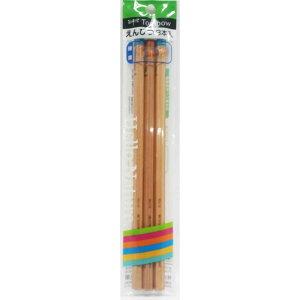 【メール便なら240円】かきかた鉛筆ハローネイチャーB 3本パック ACF-350E トンボ鉛筆
