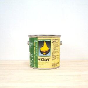 リボス アルドボス 自然塗料 2.5L クリア ツヤなし 浸透性木材オイル 内装用 塗装 木部 DIY
